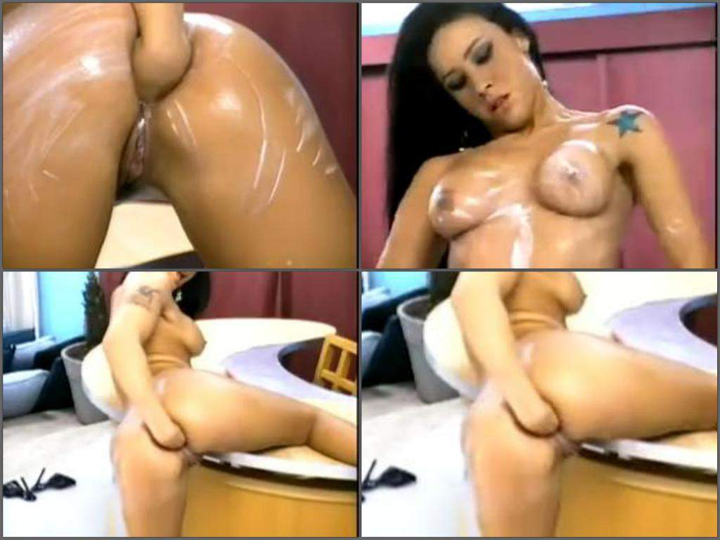 tattooed girl fisting anal,fisting sex,hot fisting sex,extreme fisitng porn,solo fisting,homemade fisting in doggy pose,busty girl