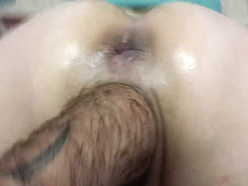 Amateur close shot pussy fisting fantastic girl