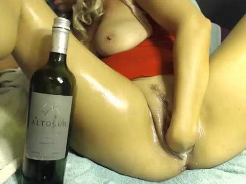 Fisting pussy busty girl webcam show extreme