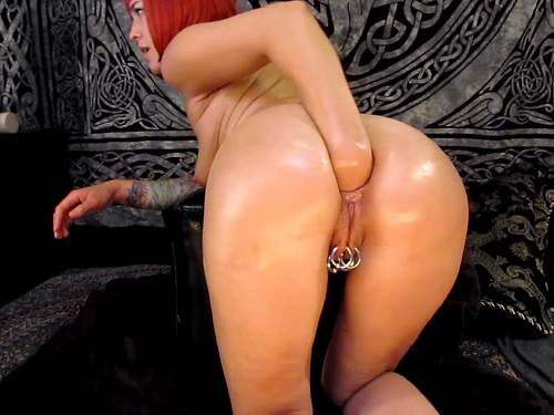 Webcam bald girl anal fisting and puke hot