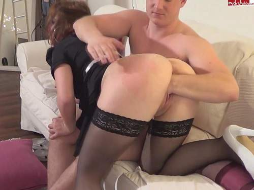 Housewife deep blowjob and like hard fisting