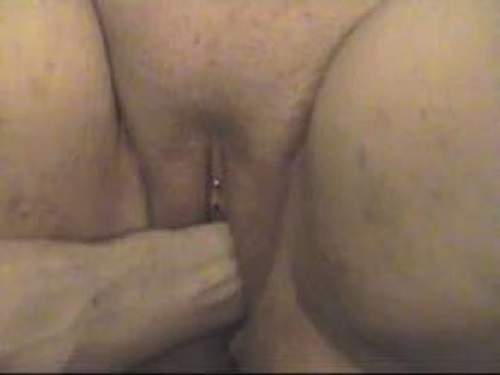 Exciting fisting pussy bbw with piercing clit