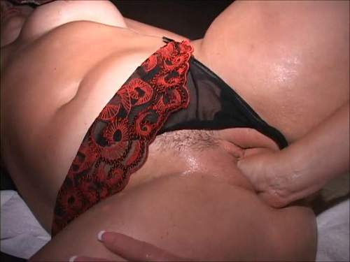 Lesbian peeing domination and fisting amateur gangbang