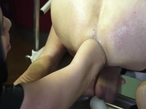 Elite amateur elbow fisting domination russian mistress