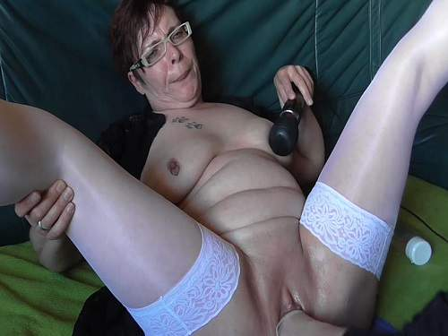 Vaginal fisting sex with naked granny new 2016