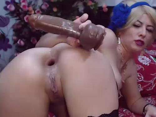 Have Blonde solo ass pussy you