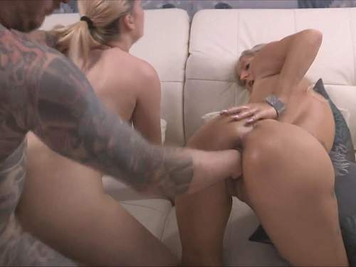 Amateur tattooed male fuck girl and fisted pussy Nightkiss66