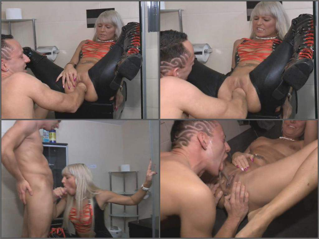 mistress gets fisted,hot fisitng video,exciting fisting porn,hard fisting,peeing in throat,pissing domination