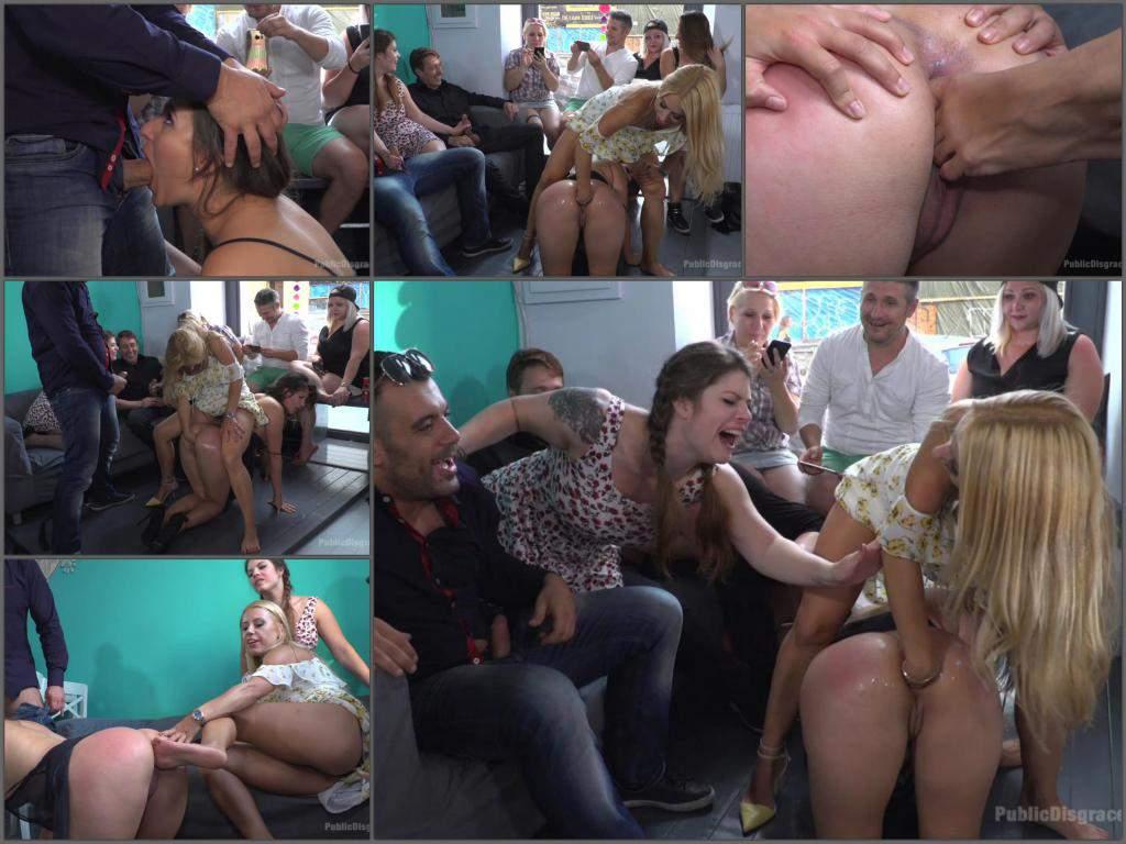 Nikki Thorne domination,Nikki Thorne public domination,Amirah Adara gets fisted,Amirah Adara fisting domination,lesbian domination,maledom