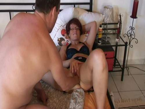 Sensual couple hot fisting and hard sex homemade