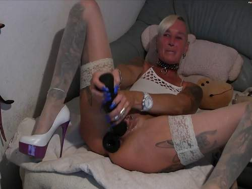 lady-isabell666 fisting pussy,pussy fisting,isabell666 pussy fisting,mature fisting pussy,tattooed mature,double dildo fuck,hardcore dildo fuck,big dildo penetration