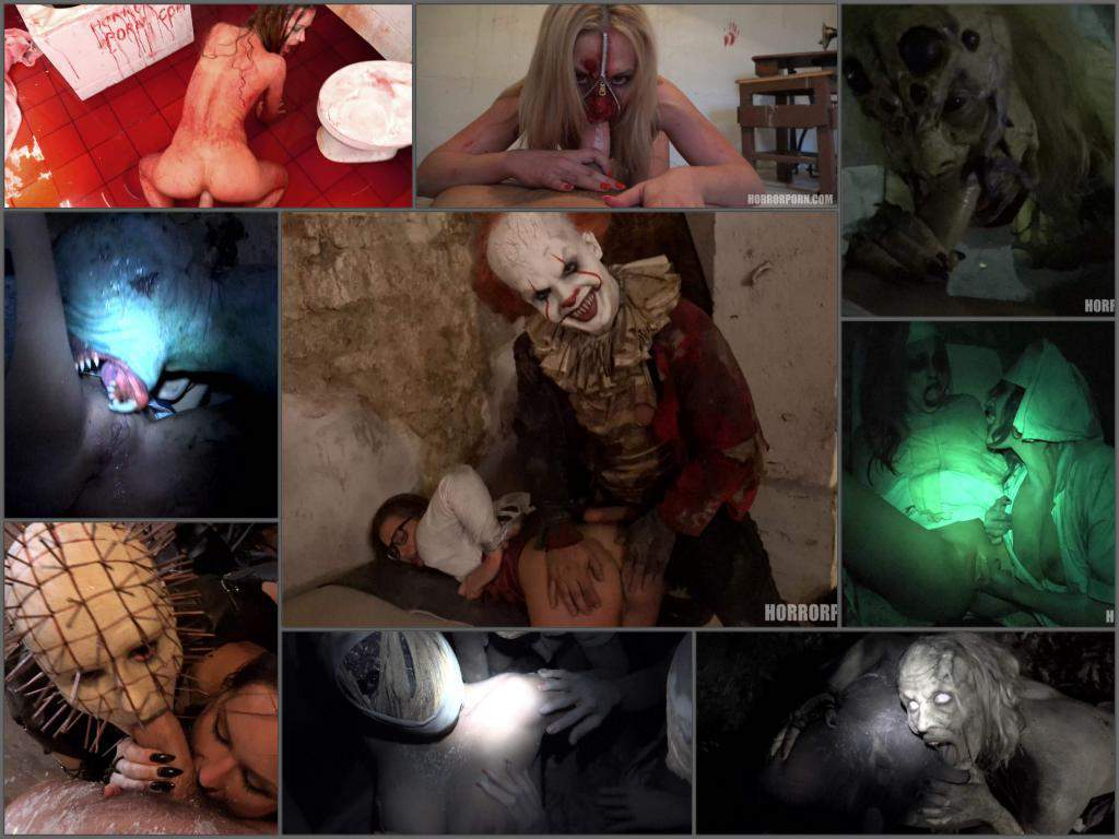 HorrorPorn - Full SiteRip (40 UltraHD 4k videos) - Halloween porn