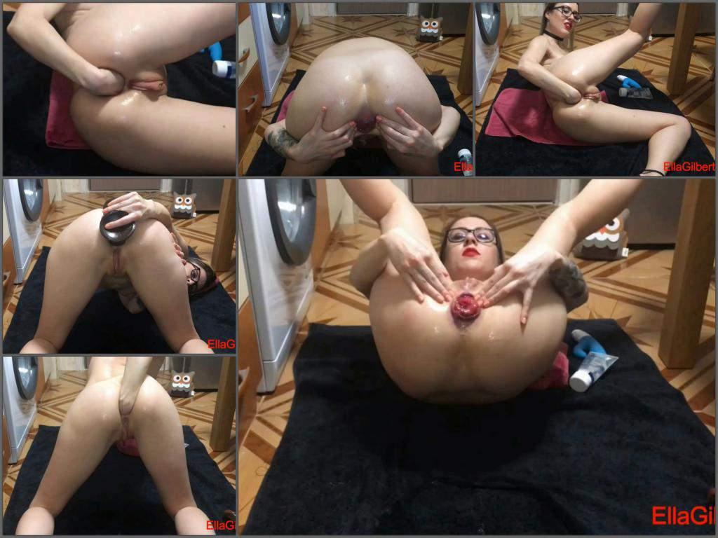 EllaGilbert breaking my record part II,Ella Gilbert anal gape,EllaGilbert anal prolapse,EllaGilbert ruined ass,EllaGilbert dildo anal