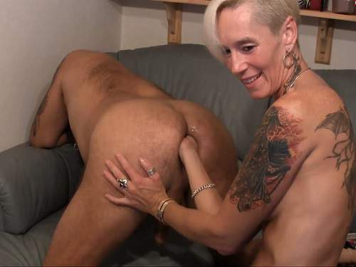Lady-Isabell666 amazing fisting domination to husband