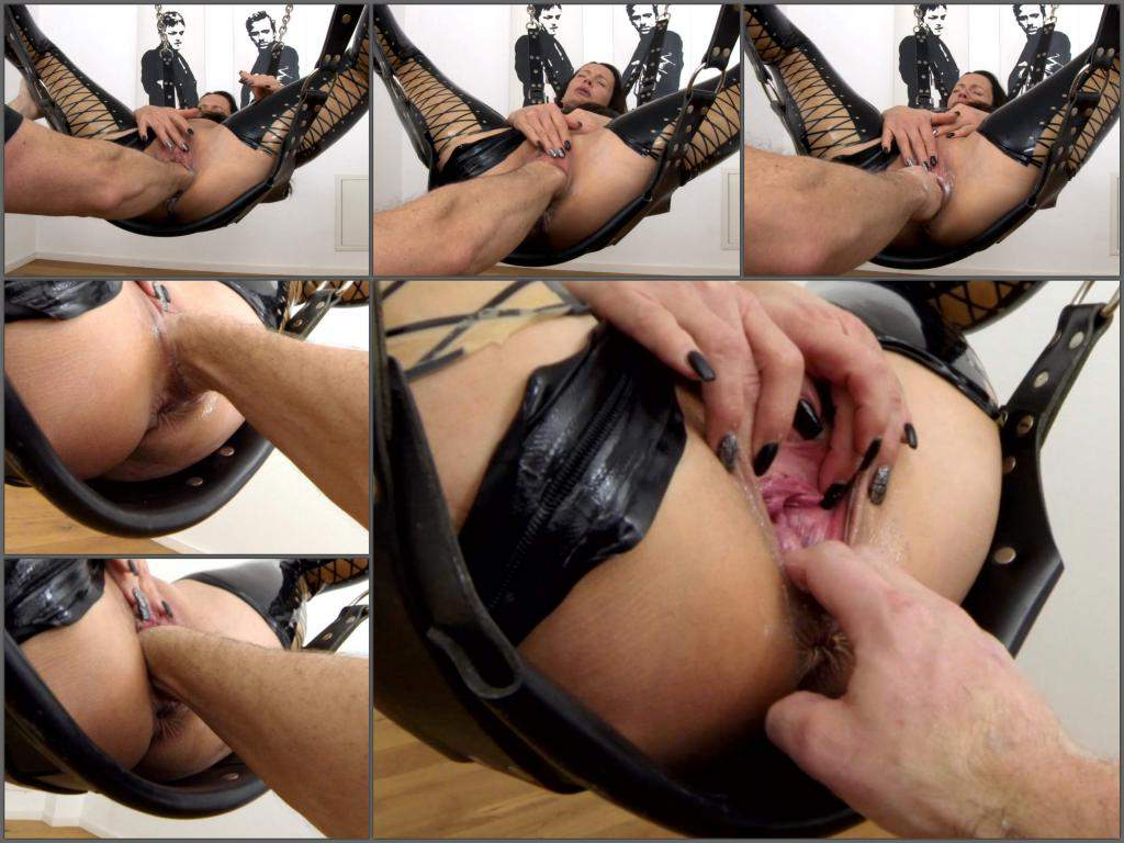 LatexAngel sling fists,LatexAngel 2018,LatexAngel download 2018,LatexAngel fisitng sex,LatexAngel fisting porn,mature gets fisted,stretching pussy