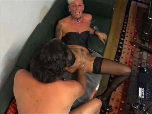 Lady-Isabell666 vaginal fisting sex with new male