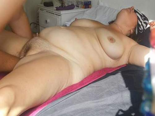 Fatty wife with hairy pussy first try deep vaginal fisting