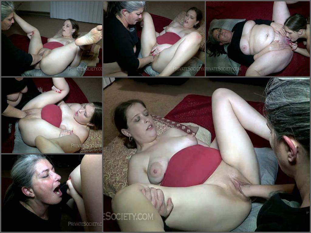 Younger milf gets fisted and lactates on older milf,busty milf,milking tits,fisting sex,milf fisting,mature fisting,deep fisting,vaginal fisting