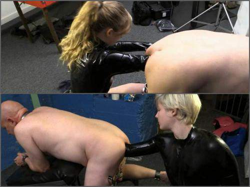 Deep fisting – KinkDevice – mistress deep anal fisting domination to slave male
