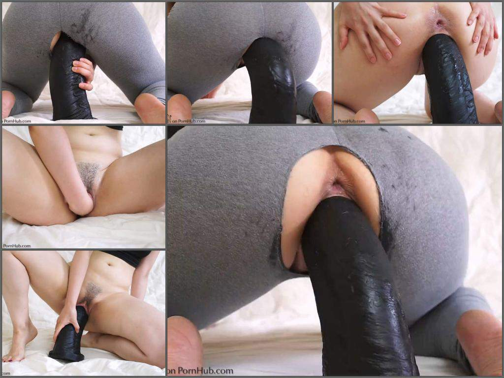 Latina Big Ass Dildo Ride