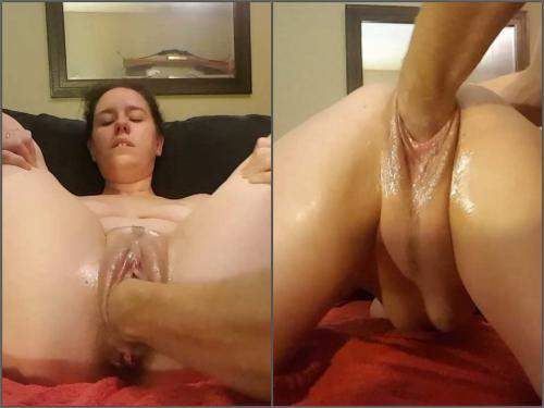 Pussy insertion – OhKatyoh to the wrist fisting – Premium user Request