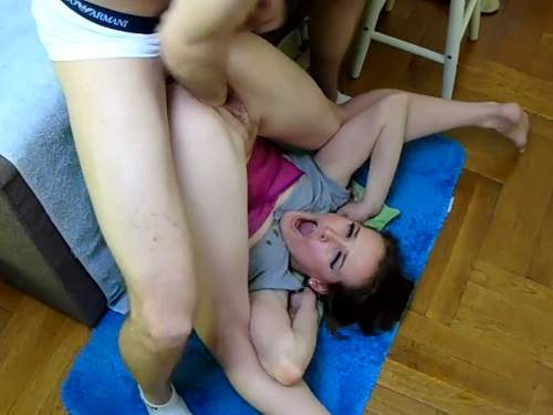 Amateur – Amateur wife gets double penetration with husband's cock and fist