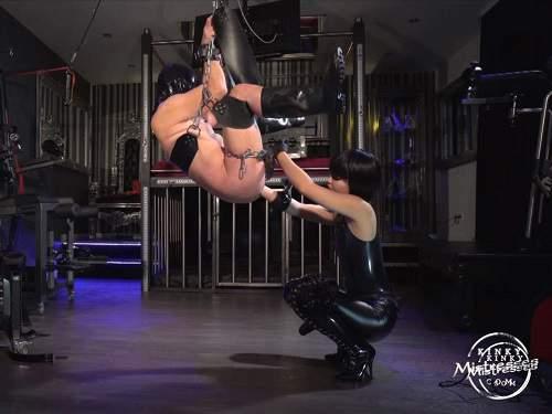 Femdom POV – Kinky asian mistress Miss Opium amazing fisting domination