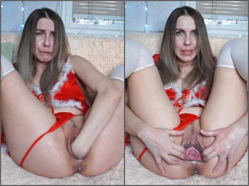 Pussy fisting – New russian LinaFoX hot snow maiden – Premium user Request
