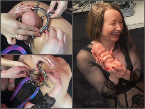 Speculum – Xtreme Gape giving birth with my Asshole – Premium user Request