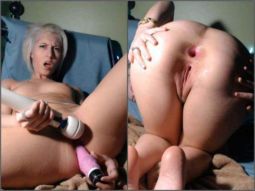 FullHD porn – CamGirlJade big toy in my tiny asshole anal prolapse webcam