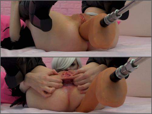 Teen anal – Tweetney 2B machine analized to gaping hole 4k porn