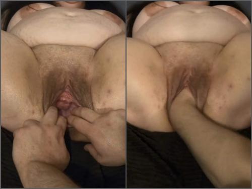 Busty girl – Fatty BBW with sweet pussy enjoy deep fisting pussy