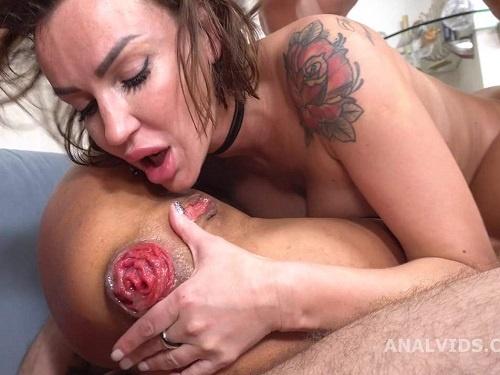 Anal prolapse – Russian girls Monika Fox and Elen Million squirting prolapse porn