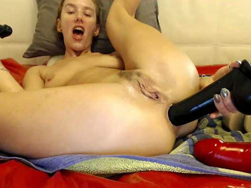 Webcam – Brutal dildos insertion in gaping anus to russian girl bbmix996
