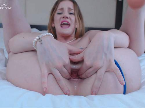 Huge dildo – Gingerspyce hotel succubus – double dildo porn to gape