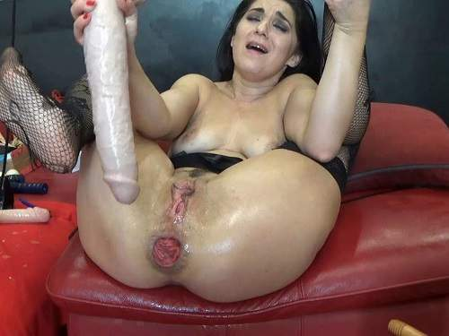 Anal prolapse – BIackAngel deep fisting and toying ass to prolapse