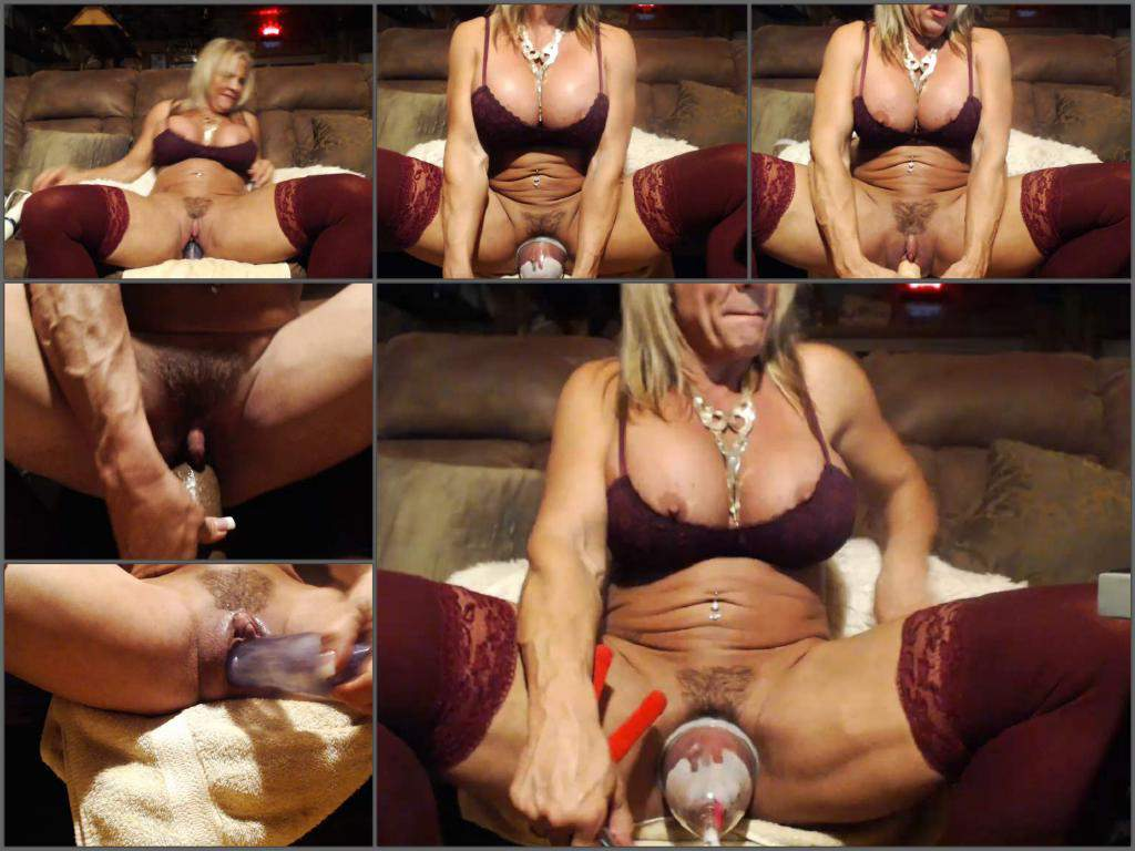 musclemama4u dildo penetration,musclemama4u dildo in pussy,hairy pussy,big clit,big clit porn,busty milf porn