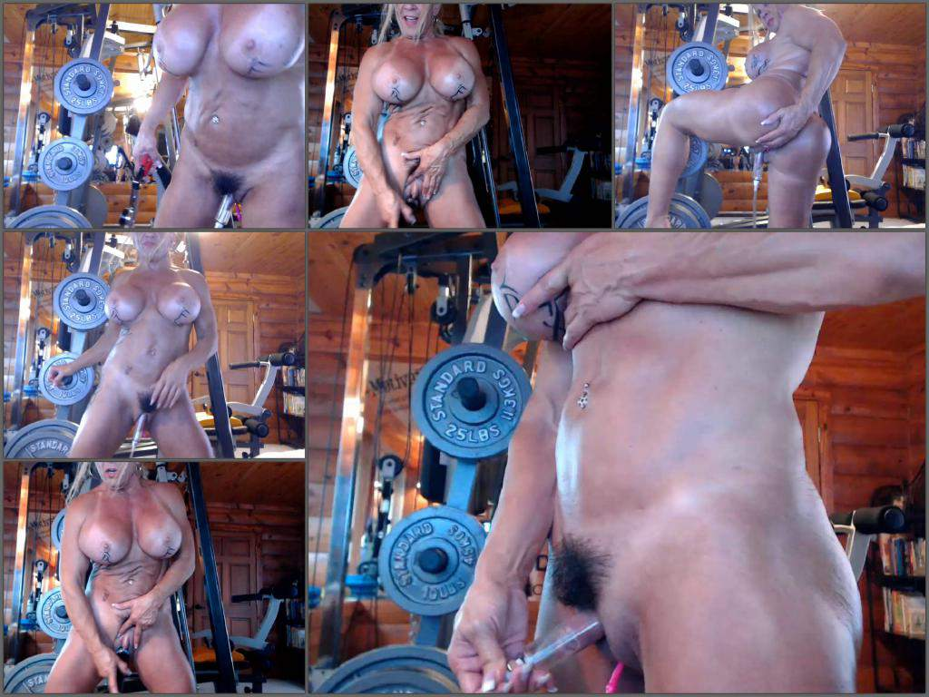 musclemama4u dildo penetration,musclemama4u dildo in pussy,musclemama4u huge dildo in pussy,big clit pump,hairy pussy pump,muscular mature porn,big tits milf porn
