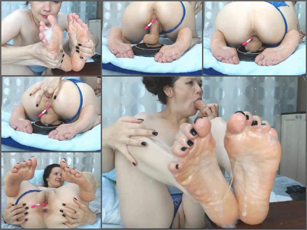Viktoriakiss 2019,Viktoriakiss dildo anal,Viktoriakiss dildo riding,Viktoriakiss anal gape,little anal gape,anal gape loose,big ass girl,girl anal porn,foot fetish porn,foot fetish video