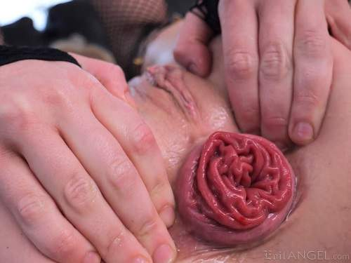Anal prolapse – Barbie Sins and Megan Inky anal prolapse porn