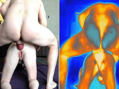 Mature penetration – Double vision anal prolapse porn with kinky MILF