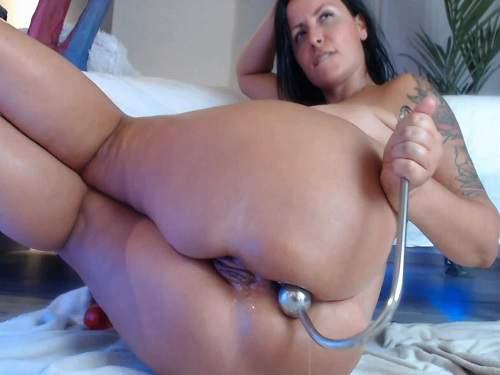 Rosebutt – Hook anal penetration to squirt and rosebutt