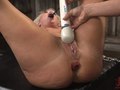 Prolapse porn – The dinner party: cheating wife London River gets anally creampied and prolapse