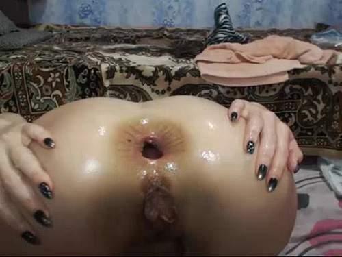 Gifrru – Sexy russian redhead slut beautiful gape stretched