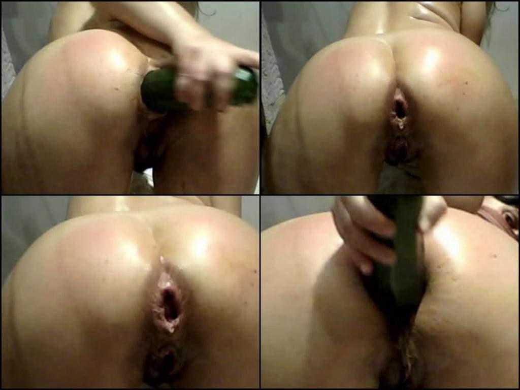 big gape anal webcam,giant vegetable deep penetration anal, kinky girl with destroyed anal