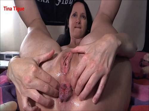 Anal – Sexy webcam mature with big pucker anus