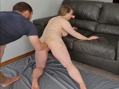 Anal fisting – Pig wife squirt during fisting sex and gaping hole loose