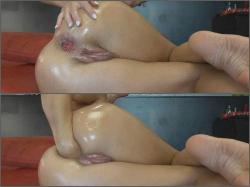 BIackangel pussy fisting,BIackangel anal fisting,solo fisting,girl gets fisted,dildo fuck,rubber dildo in pussy,vaginal pump