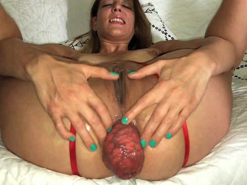 Monster dildo – Maria Hella My asshole and my prolapse – Premium user Request