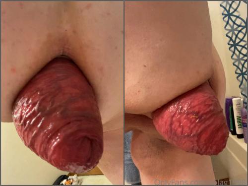 Close up – Fatty pornstar Solag1998 sexy anal prolapse loose POV amateur